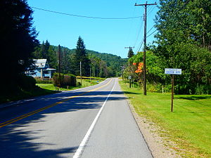 U.S. Route 219 in Pennsylvania - US 219 entering Custer City