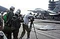 US Navy 021031-N-4171A-043 CNN camera crew aboard USS Lincoln.jpg