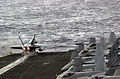 US Navy 030309-N-2385R-001 An FA-18A Hornet launches from the flight deck.jpg