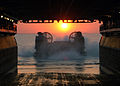 US Navy 060424-N-3557N-083 A Landing Craft Air Cushion (LCAC) prepares to enter the well deck of amphibious assault ship, USS Kearsarge (LHD 3).jpg