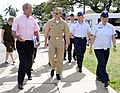 US Navy 100329-N-7498L-015 Vice Adm. Michael C. Vitale takes a tour of the U.S. Air Force side of the Joint Base Pearl Harbor-Hickam.jpg