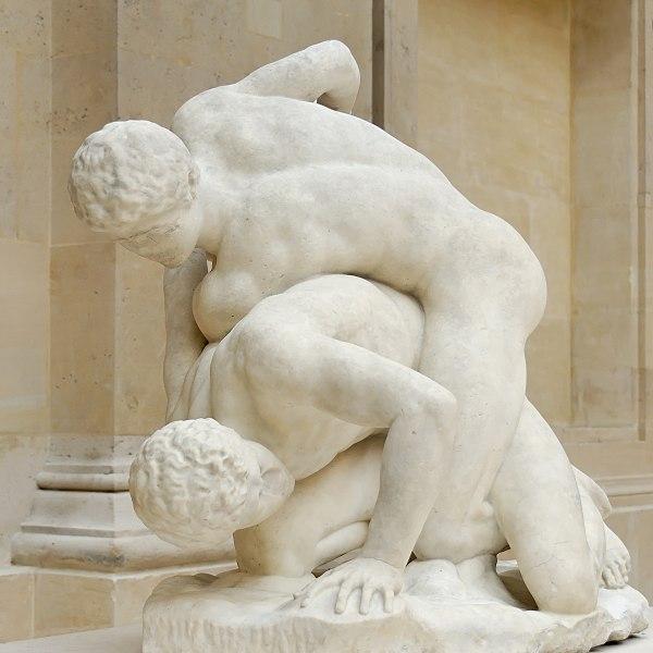 File:Uffizi wrestlers Magnier Louvre MR2040.jpg