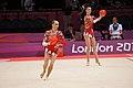 Ukraine Rhythmic gymnastics at the 2012 Summer Olympics (7915625402).jpg