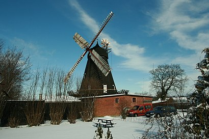 How to get to Uldum Mølle with public transit - About the place