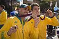 Unidentified Australian Olympic athletes (MG 9024).jpg