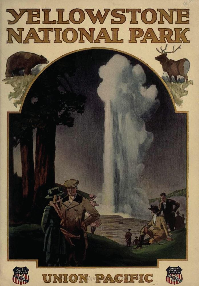 Union Pacific Yellowstone National Park Brochure (1921)