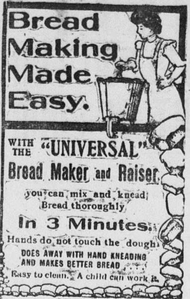 File:Universal Bread Maker and Raiser (advertisement, 1904).jpg