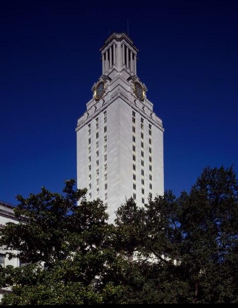 University Tower at the University of Texas, Austin, Texas LCCN2011633306