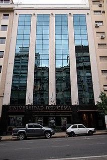 University of CEMA Private university in Argentina