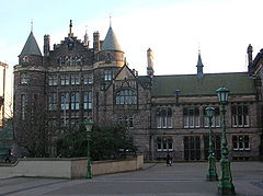 Teviot Row House, as viewed from Bristo Square