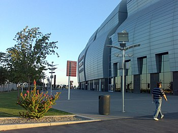 University of Phoenix Stadium (Glendale, Arizona).