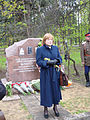 Unveiling of the monument to the nurses. Memorial park 26.jpg