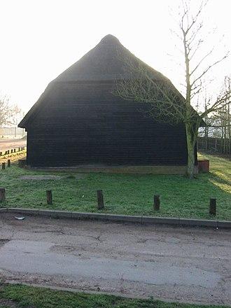 Upminster Tithe Barn Museum of Nostalgia - Image: Upminster tithe barn west
