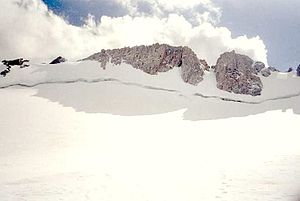 Fitzpatrick Wilderness - Upper Fremont Glacier in the Fitzpatrick Wilderness