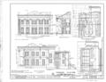 Upson House, 1000 Prince Avenue, Athens, Clarke County, GA HABS GA,30-ATH,2- (sheet 2 of 4).png