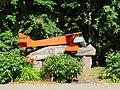 Upynos mokykla, lėktuvo modelis.JPG