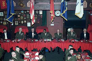 Dining in - Mess Night at Camp Lejeune