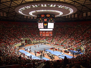 Jon M. Huntsman Center Arena at the University of Utah