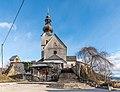 Völkermarkt Sankt Georgen am Weinberg Pfarrkirche hl. Georg W-Ansicht 03012019 5841.jpg