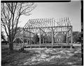 VIEW WEST, EAST ELEVATION - John Dickinson Mansion, Feed Barn, Kitts Hummock Road, Dover, Kent County, DE HABS DEL.1-DOV.V,1-A-3.tif