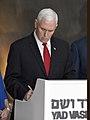 VP Mike Pence visits Yad Vashem Holocaust Museum (39152598684).jpg