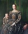 Vaiani, Lorenzo (Lorenzo dello Sciorina) - Official portrait of Eleonora of Toledo, Duchess of Florence.jpg
