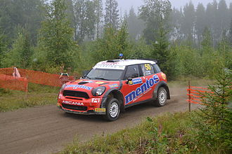 Valeriy Gorban - Gorban at 2013 Rally Finland