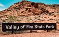 Valley of Fire State Park Sign (28795046490).jpg