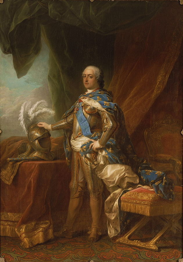 Louis XV in Armour