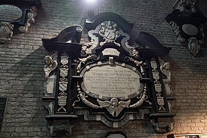Marquess of Becelaere - Canon of Ghent: Maximilian van de Woestyne de Becelaere, died 1699.