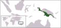 Varanus salvadorii rangemap.png