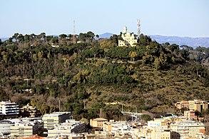 Vatikan, Blick vom Petersdom zum Monte Mario