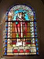 Vaux-Villaine (Ardennes) Église Saint-Remi, vitrail Saint Remi.JPG