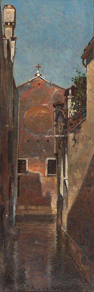 Maitland Armstrong - Image: Venice, David Maitland Armstrong, 1872