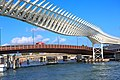 Venice city scenes - on the Grand Canal - fancy new rail bridge (11002343814).jpg