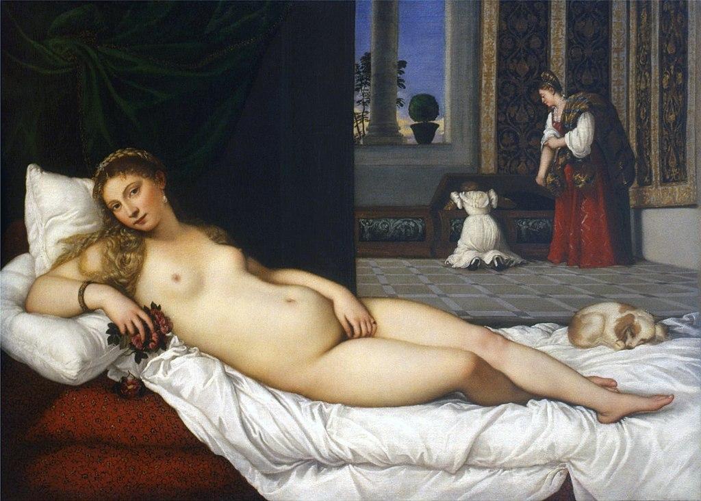 Tizian: Urbinon venus