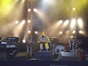 The Verve - The Verve at Pinkpop, Netherlands in 2008.