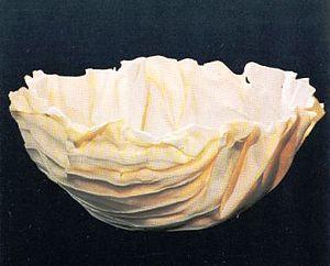 Roma Babuniak - Vessel 1988 Porcelain, 53cm Private Collection London, UK