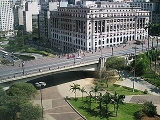 Viaduct in São Paulo, Brazil
