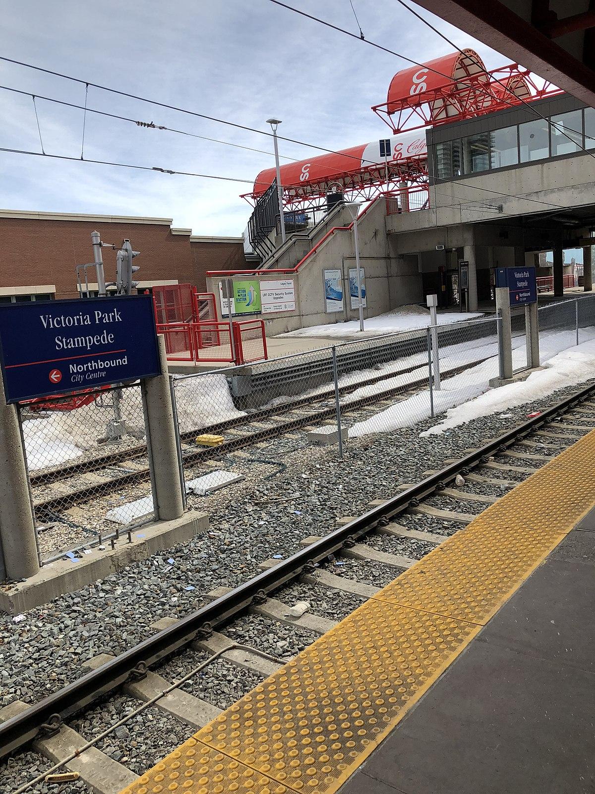 City Line Avenue >> Victoria Park/Stampede station - Wikipedia