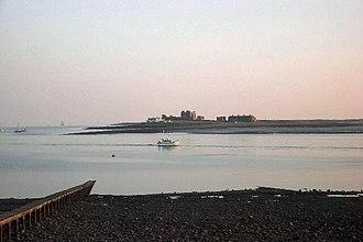 Roa Island - Image: View to Piel island
