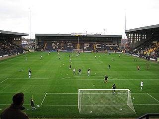 Meadow Lane football stadium