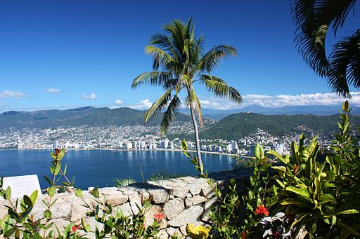 View from Chapel of the Peace, Acapulco
