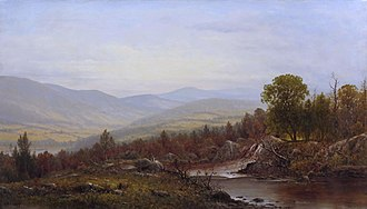 Alice Freeman Palmer - Charles Wilson Knapp, View in the Susquehanna Valley