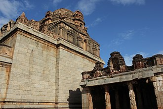Ananthasayana temple - Image: View of Ananthasayana temple at Ananthasayanagudi