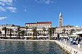 View of Diocletian's Palace, Split 01.jpg