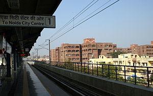 Mayur Vihar - Mayur Vihar from Metro Station