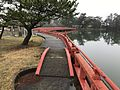 View of Shinkyo Bridge of Tokiwa Shrine in Tokiwa Park.jpg