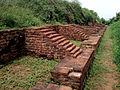 View of a Vihara ruins on Bojjannakonda hill.jpg