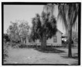 View of east side of 2005 East Fifteenth Avenue, facing west. - 2005 East Fifteenth Avenue (House), Tampa, Hillsborough County, FL HABS FL-448-4.tif